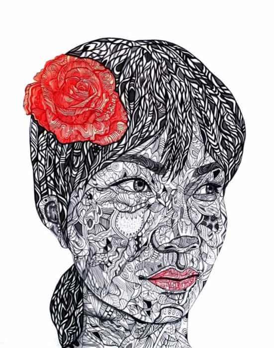 Blue Bird - Rose Rose I Love You - edit3 - 120 x 150 - 60