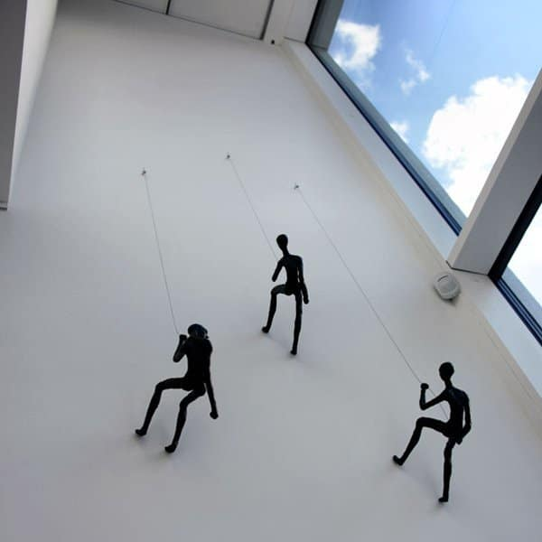 Climbing Man - Wall Sculpture - Wall Art Ideas
