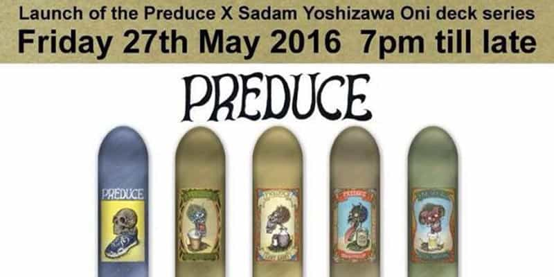 GOJA - TRK and Sadam Yoshizawa Art Exhibition [Launch of the Preduce X Sadam Yoshizawa Oni Deck Series.]