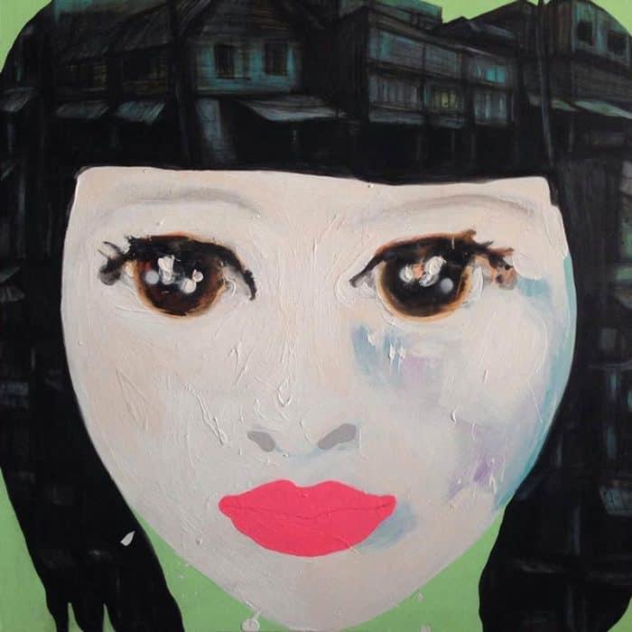 Gee - Green Woman - 110 x 110 - 25-edit