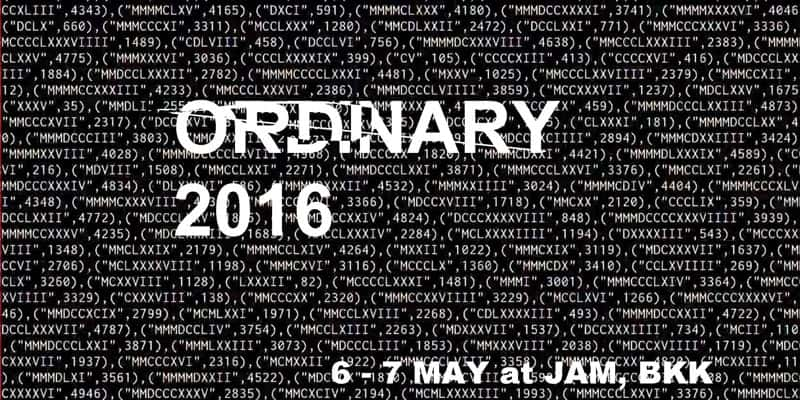 JAM - Ordinary 2016