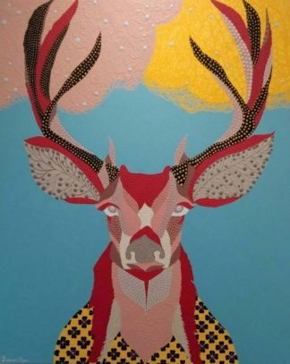 Kamontip - Deer - 120 x 150 - 15