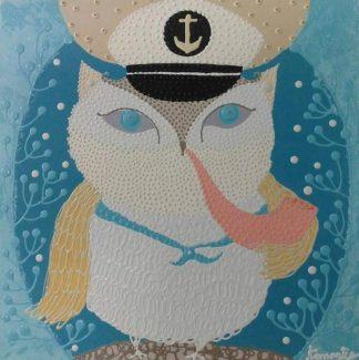 Kamontip - Owl 11 - 50 x 50 - 3