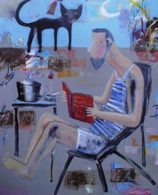 Kitti - Orphan Pamuk, My Name is Red - 80 x 100 - 6-5