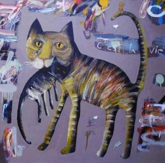 Kitti - c'est la vie - 100 x 100 - 8