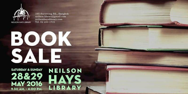 Neilson Hays Library - BOOK SALE
