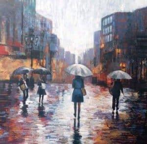 Paa – Under Umbrella – 120 x 120 – 17