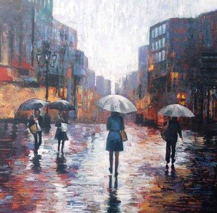 Paa - Under Umbrella - 120 x 120 - 17