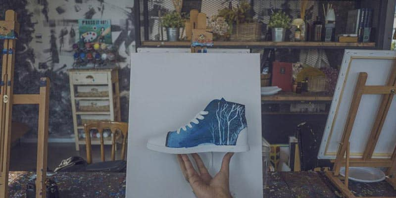 Paint Bar Bangkok - Art x Sneakers 1 - Paint Party