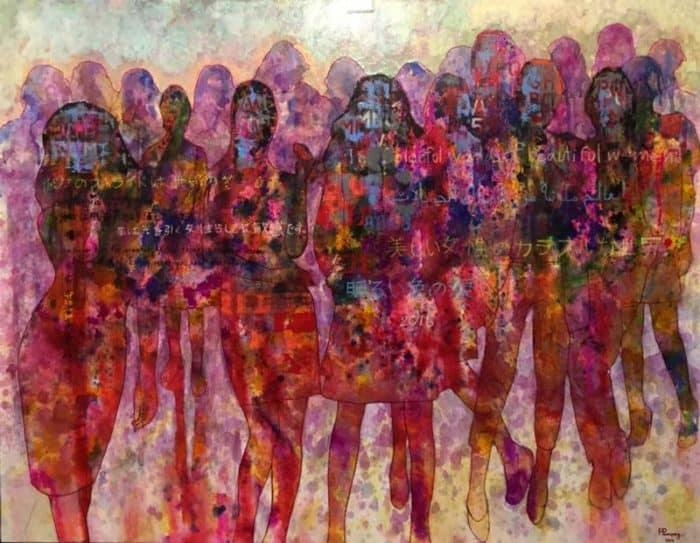 Peerapong - People 14 - 180 x 140 - 25