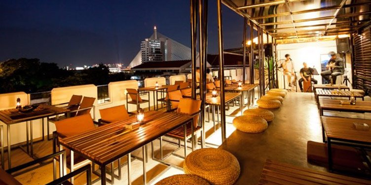 Phranakorn Bar and Art Gallery Bangkok