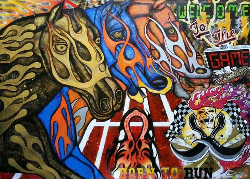 Poom - Born to Run - 140 x 100 - 12