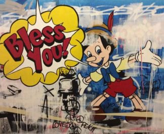 SOS - Bless You - 140 x 120 - 20
