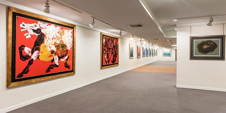 Sombat Permpoon Art Gallery Bangkok