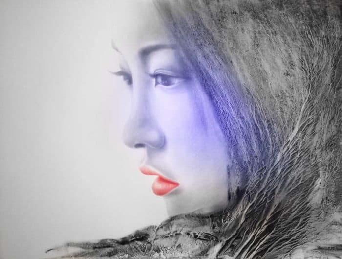Anek - Portrait 18 - 170 x 140 - 20