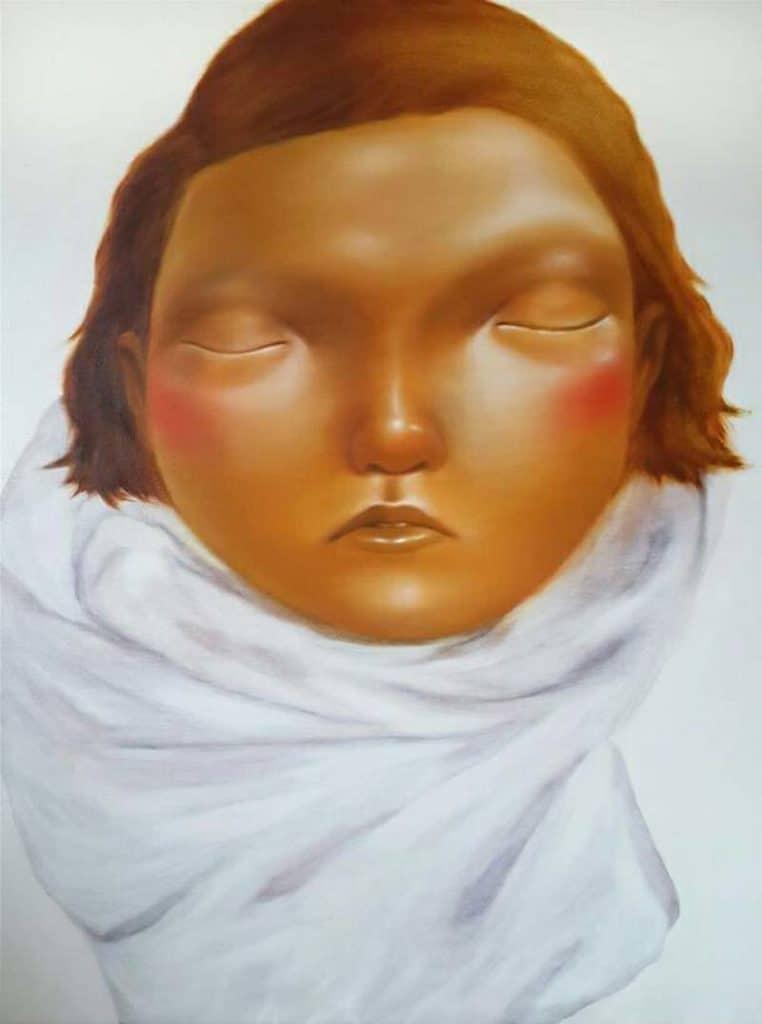 Aranya - Portrait 20 - 90 x 120 - 20