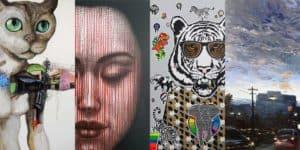 Artworks for Sale - Onarto - April - Feat