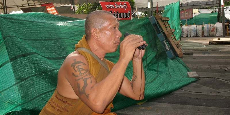 Foreign Correspondents' Club of Thailand - FCCT - Thai Buddhism - Seized by Politics