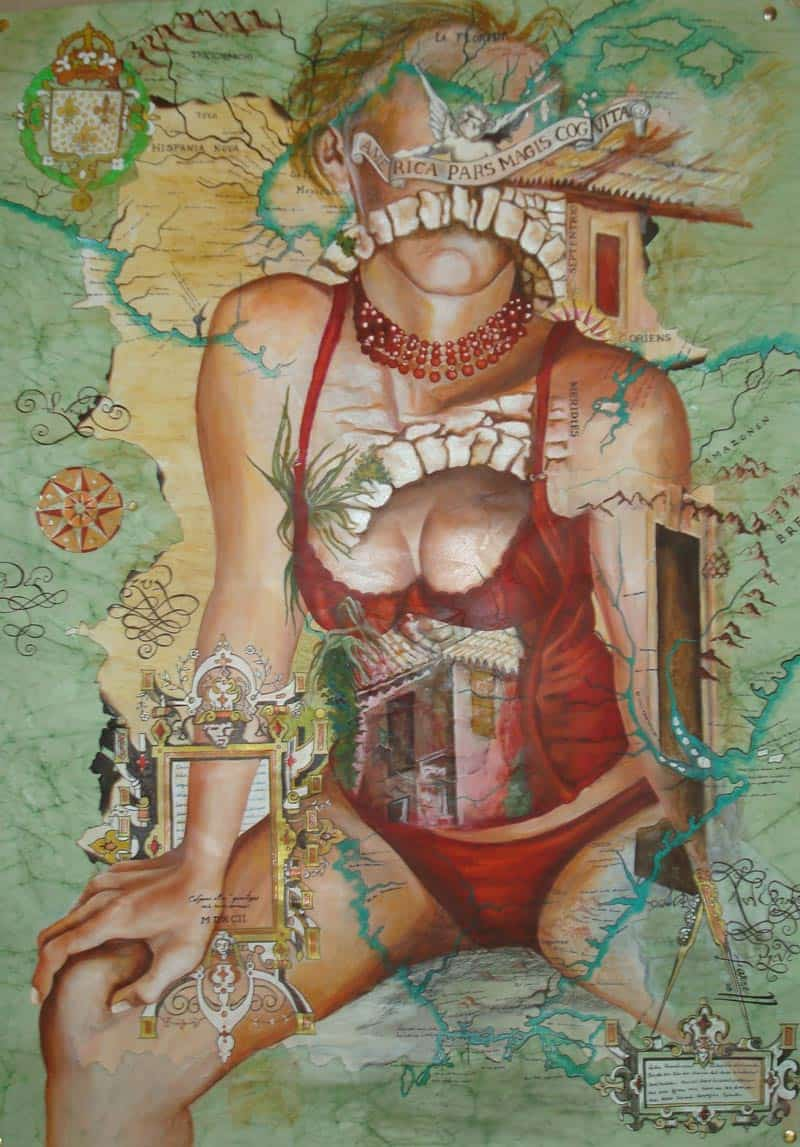 Gabriela Farnell – Ephemeral & Erotic Mixed Media 11