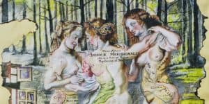 Gabriela Farnell – Ephemeral & Erotic Mixed Media - feat