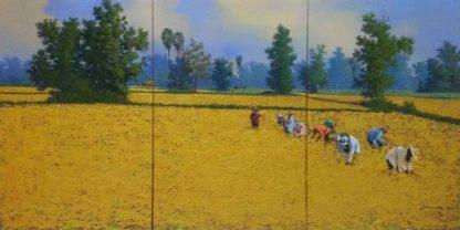 Anurak - Triptych 16 - 120 x 60 - 9