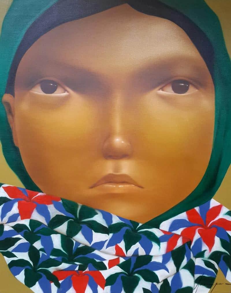 Aranya - Portrait 23 - 120 x 150 - 30