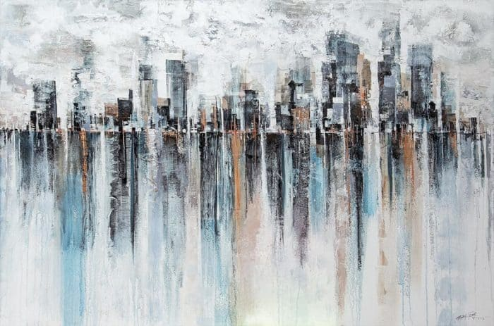 Gittisak - Sky Town - 150 x 100 - 18