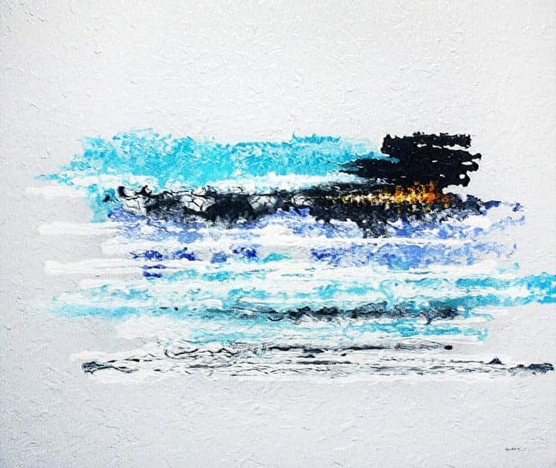 Mam - The Sea 07 - 120 x 100 - 15