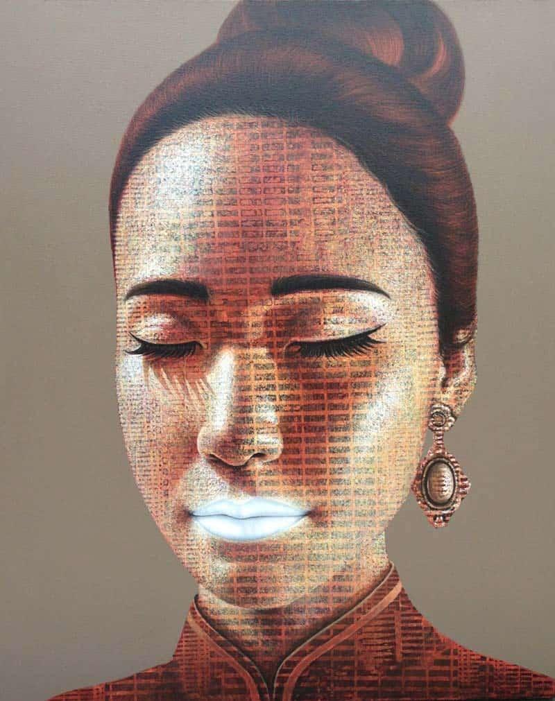 Petch - Portrait 33 - 80 x 100 - 20