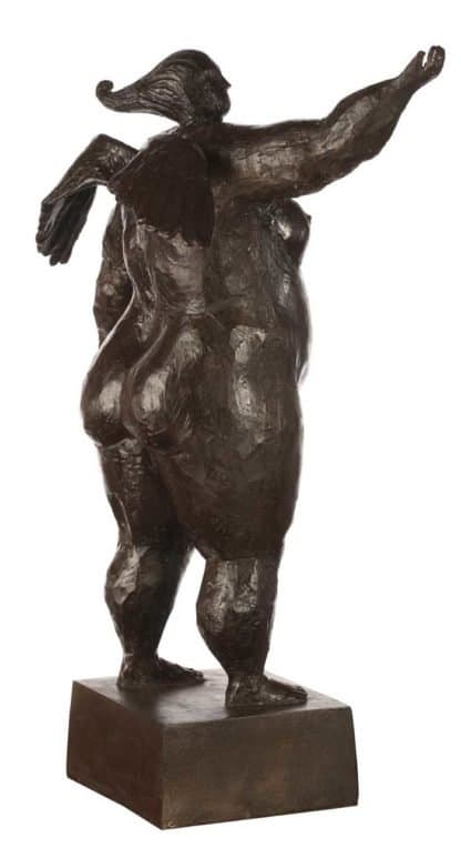 Sculptures for sale - Ath - Angel 01 - Lady 18 - 33 x 36 x 49 - 4-5