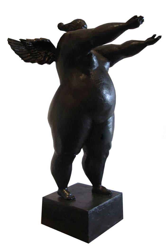 Sculptures for sale - Ath - Angel 02 - Lady 19 - 28 x 30 x 50 - 4-5