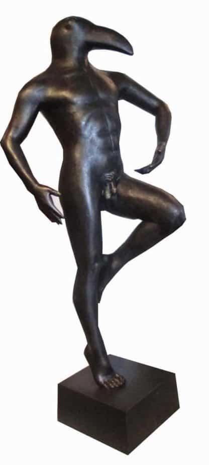 Sculptures for sale - Ath - Birdman 02 - Gen 32 - 27 x 22 x 62 - 4