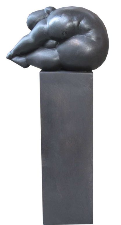 Sculptures for sale - Ath - Lady on Pillar - Lady 29 - 17 x 10 x 38 - 2-5