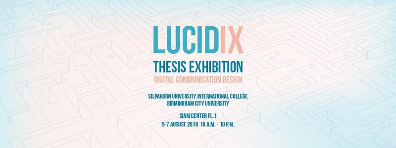Siam Center - LucidIX Thesis Exhibition