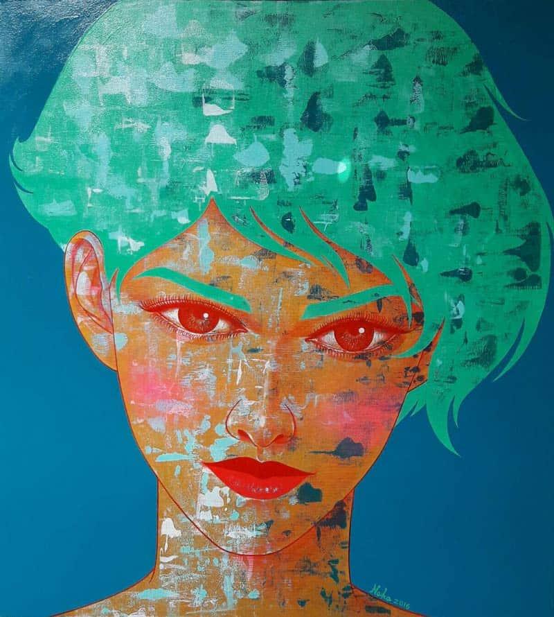 Vatcharapong - Portrait 02 - 90 x 100 - 12