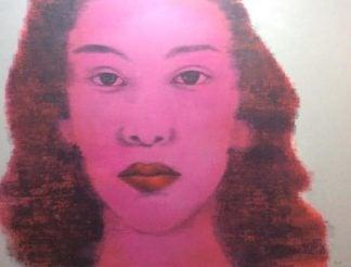 Bird - Pink Woman Portrait - 170 X 130 - 25