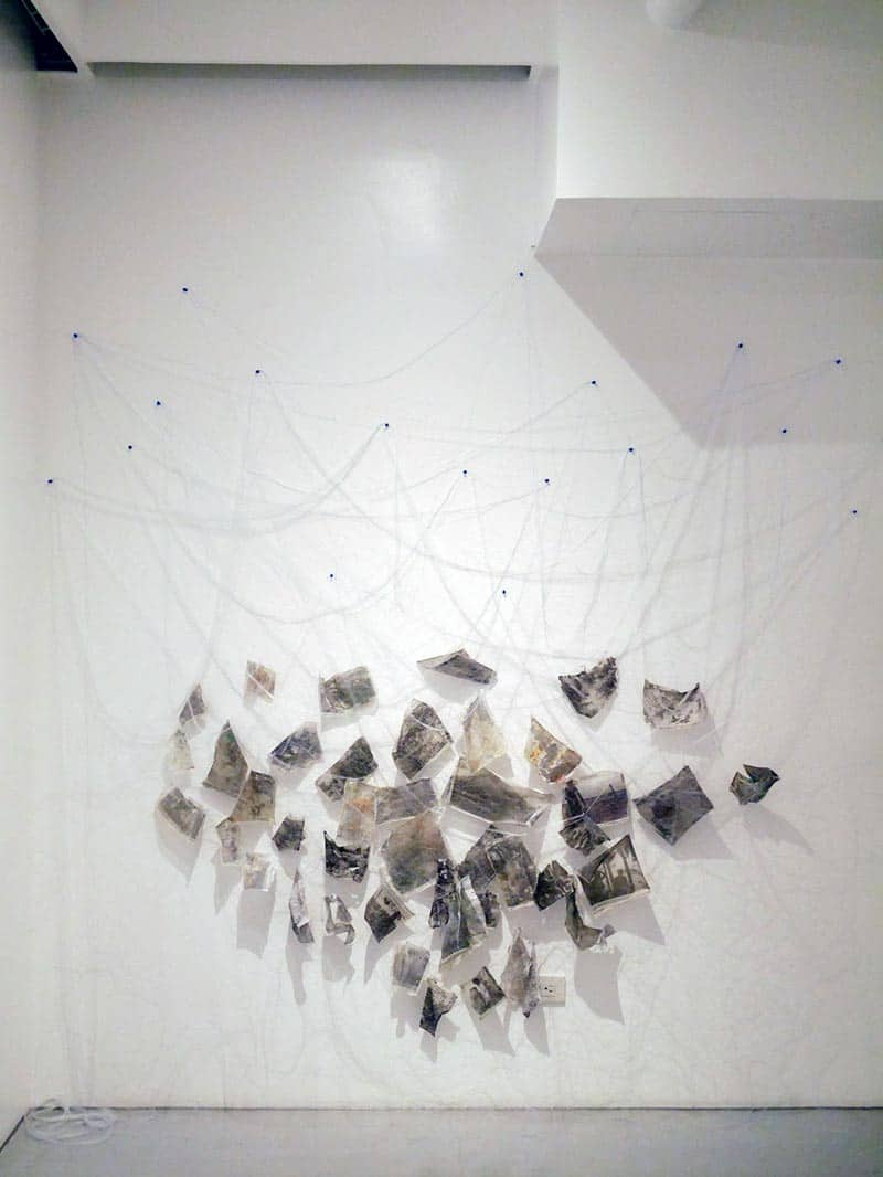 Exhibition - Hanging by a Thread - Melanie Gritzka del Villar 15