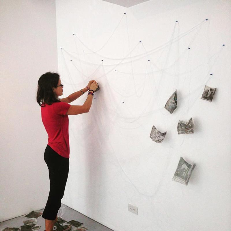 Exhibition - Hanging by a Thread - Melanie Gritzka del Villar 21