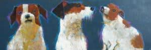 Ja – 3 Dogs Portrait – 175 x 60 – 18