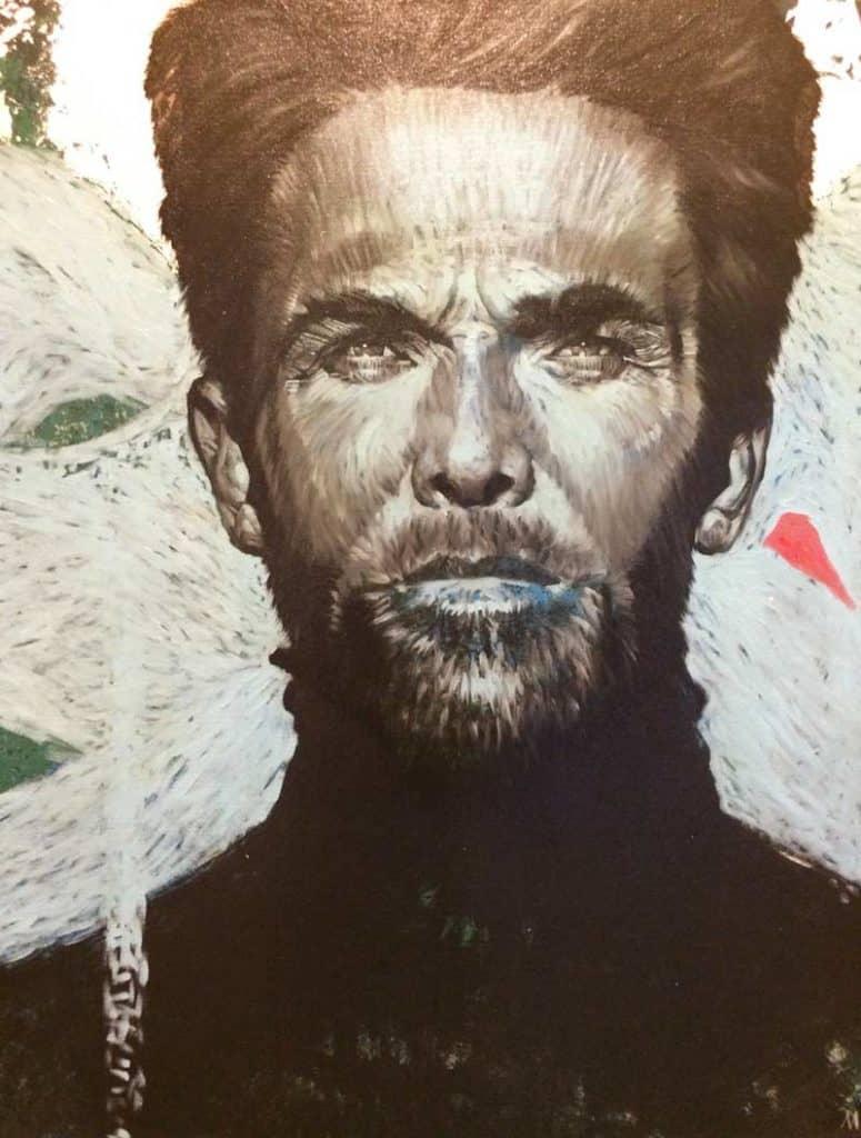 M.CH.R. - Man Portrait 57 - 90 x 100 - 8