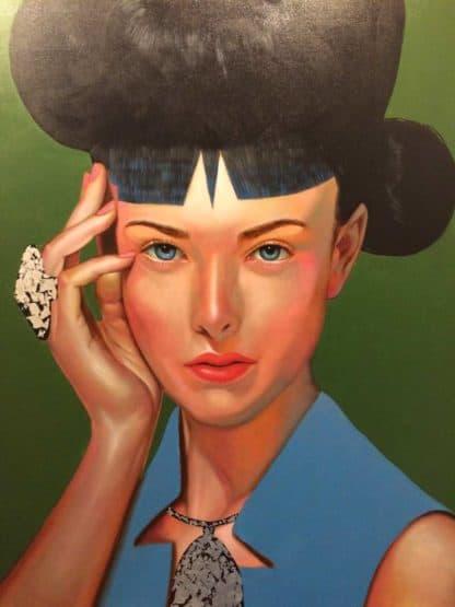 M.CH.R. - Woman Portrait 59 - 120 x 150 - 8