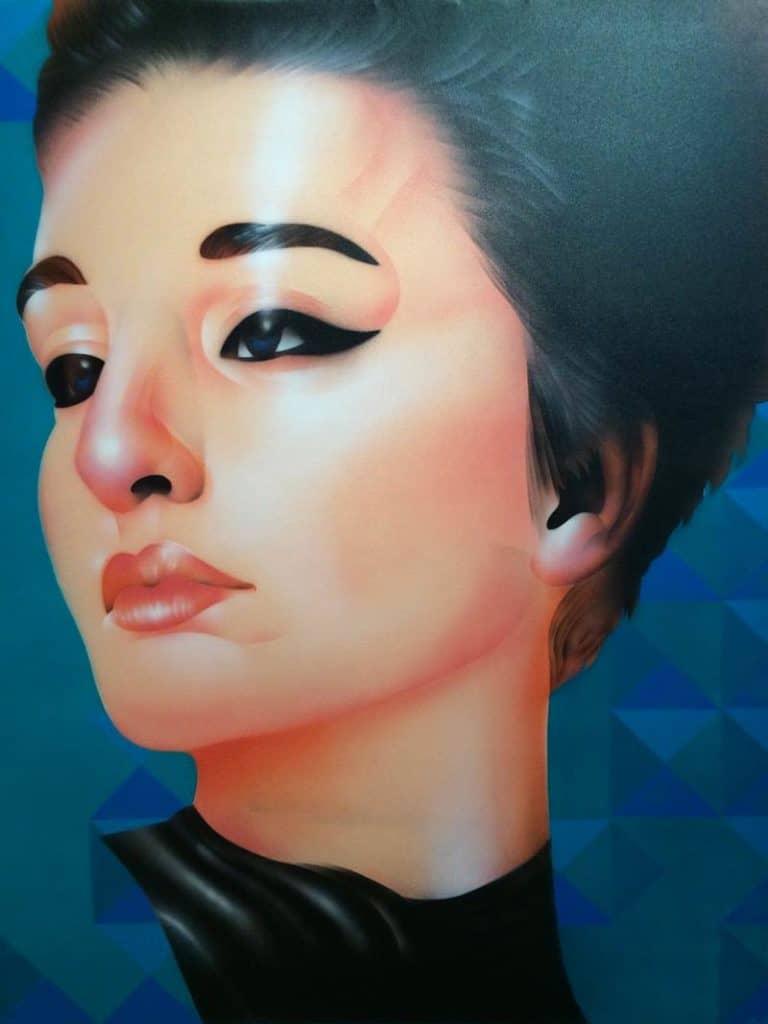 M.CH.R. - Woman Portrait 60 - 120 x 150 - 20