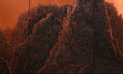 Saenkom - Grand Mountain Bronze - 160 x 100 - 30