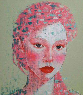 Vatcharapong - Woman Portrait 07 - 90 x 100 - 12