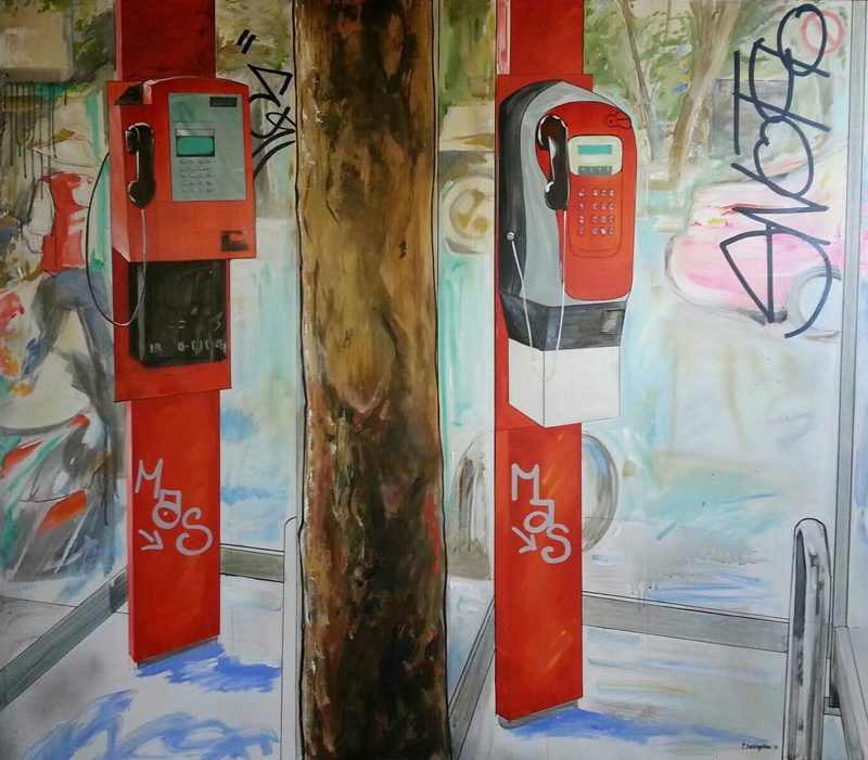 Bom - Two Phone Booths - 165 x 145 - 14