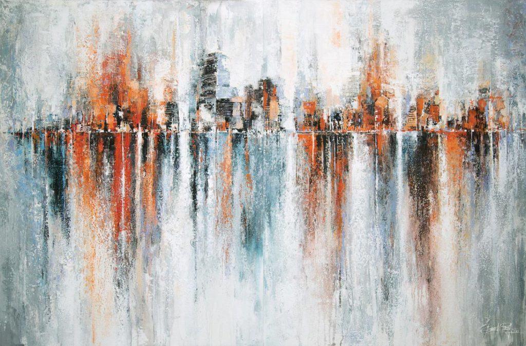 Gittisak - Impression of the reflections - 180 x 120 - 25