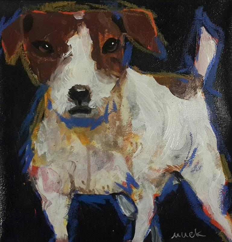 Ja - Jack Russell Terrier 01 - 25 x 25 - 09