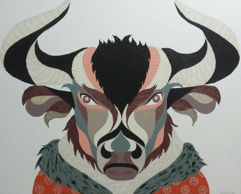 Kamontip - Bull - 150 x 120 - 20