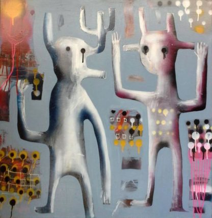 Kitti - Painting 11 - 95 x 95 - 6