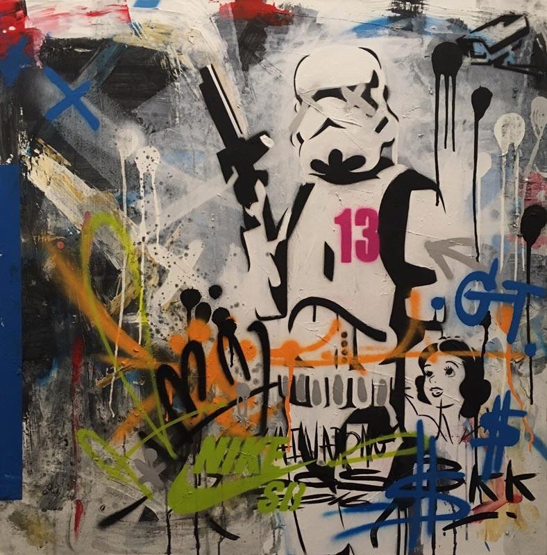 SOS - Stormtrooper 13 - 100 x 100 - 8